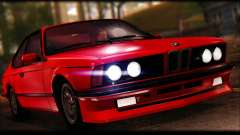 BMW E24 M635 1984 для GTA San Andreas