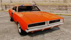 Dodge Charger 1969 General Lee v2.0 HD Vinyl для GTA 4