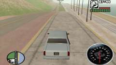 Velocimetro DC Shoes для GTA San Andreas
