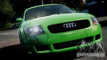 Audi TT Coupe 3.2 Quattro 2004 для GTA 4