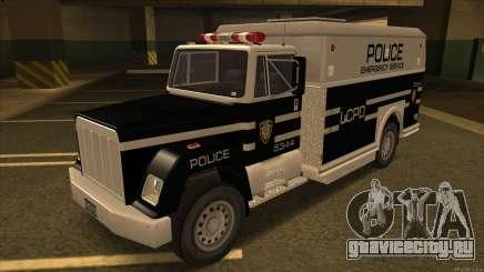 Enforcer HD from GTA 3 для GTA San Andreas
