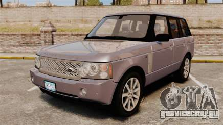 Range Rover Supercharged для GTA 4