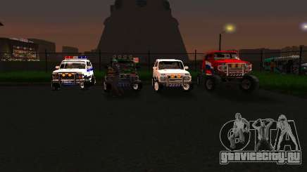 ВАЗ 212140 Полиция для GTA San Andreas
