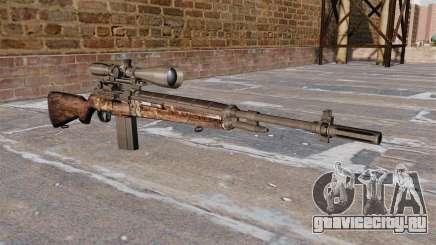 Снайперская винтовка M21 для GTA 4