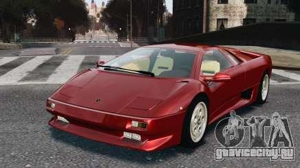 Lamborghini Diablo VT 1994 для GTA 4