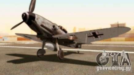 Bf-109 G10 для GTA San Andreas