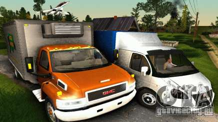 GMC Top Kick C4500 Dryvan House Movers 2008 для GTA San Andreas
