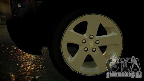 Dodge Charger LAPD 2008 для GTA 4 вид сбоку