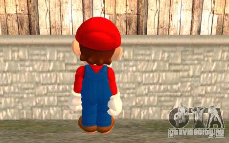 Марио для GTA San Andreas второй скриншот