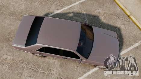 Mercedes-Benz S600 W140 для GTA 4 вид справа