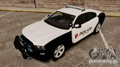 Dodge Charger RT 2012 Police [ELS] для GTA 4 вид сверху