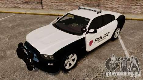 Dodge Charger RT 2012 Police [ELS] для GTA 4 вид сверху