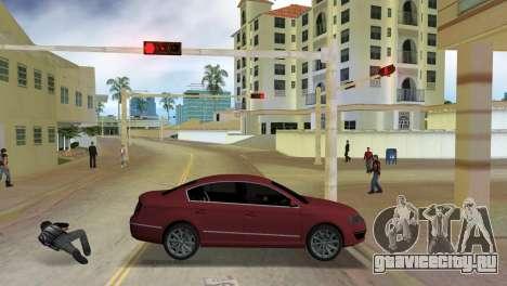 Volkswagen Passat 2007 для GTA Vice City вид слева