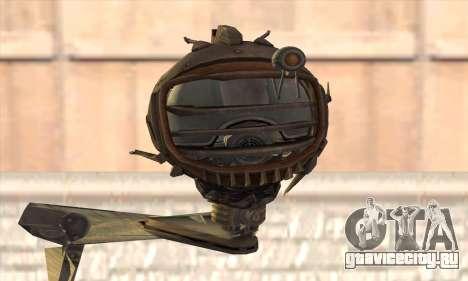 Робо Fallout 3 для GTA San Andreas третий скриншот