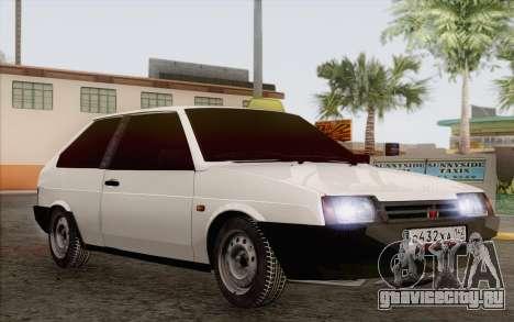 ВАЗ 2108 Такси для GTA San Andreas