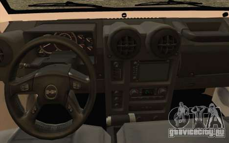Toyota Fj70 2007 Pick Up для GTA San Andreas вид справа