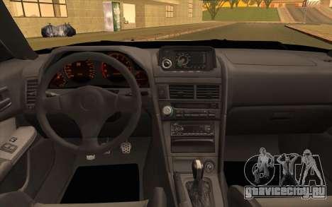 Nissan Skyline R34 Z-Tune для GTA San Andreas вид сзади