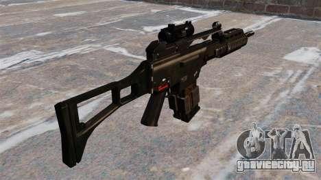 Штурмовая винтовка HK G36k для GTA 4 второй скриншот