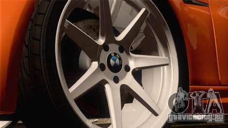 BMW M3 E92 2008 Vossen для GTA San Andreas вид сзади
