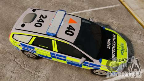 Ford Focus Estate Metropolitan Police [ELS] для GTA 4 вид справа