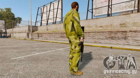 Шведская камуфляжная форма для GTA 4 третий скриншот