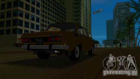 АЗЛК 2140 для GTA Vice City вид изнутри
