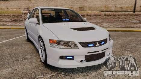 Mitsubishi Lancer Unmarked Police [ELS] для GTA 4