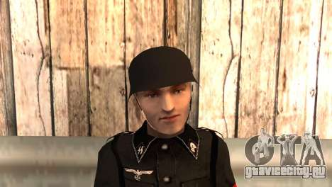 Фашисткий солдат для GTA San Andreas третий скриншот
