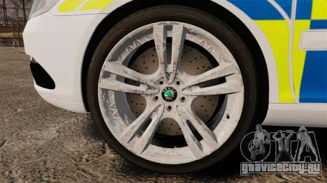 Skoda Octavia Scout RS Metropolitan Police [ELS] для GTA 4 вид сзади