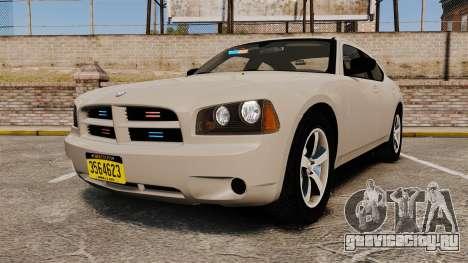 Dodge Charger Unmarked Police [ELS] для GTA 4