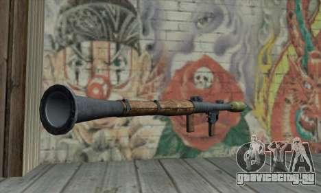 Ракетная установка для GTA San Andreas второй скриншот