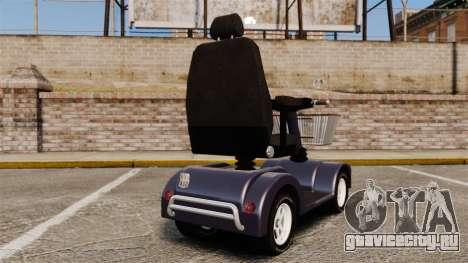 Funny Electro Scooter для GTA 4 вид сзади слева
