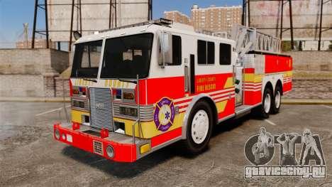 MTL Firetruck MDH1000 LCFR [ELS] для GTA 4