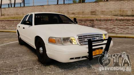 Ford Crown Victoria 1999 Unmarked Police для GTA 4