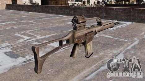 Штурмовая винтовка HK G36 для GTA 4 второй скриншот