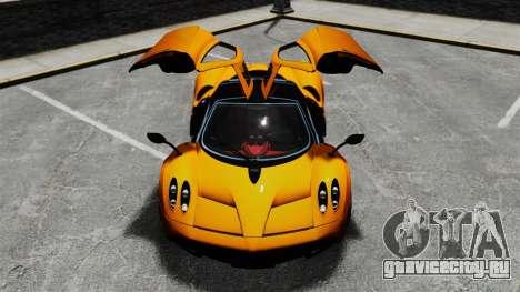 Pagani Huyara [EPM] для GTA 4 колёса