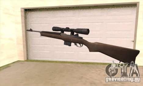 Снайперская винтовка из Left 4 Dead 2 для GTA San Andreas второй скриншот