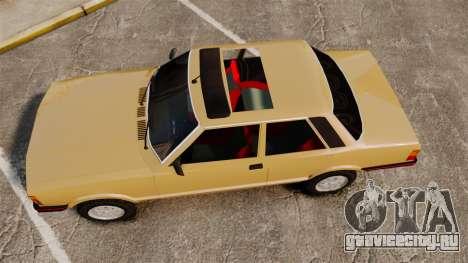 Ford Taunus GLS v2.0 для GTA 4 вид справа