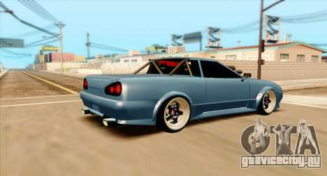 Elegy pickup v2.0 для GTA San Andreas вид слева