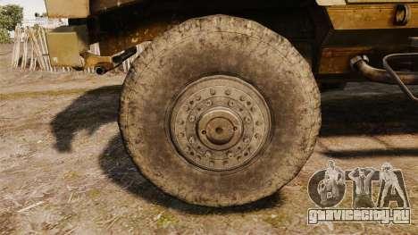 Oshkosh M-ATV для GTA 4 вид сзади