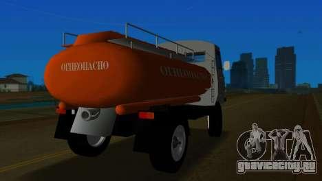 УАЗ 465 Бензовоз для GTA Vice City вид сзади слева