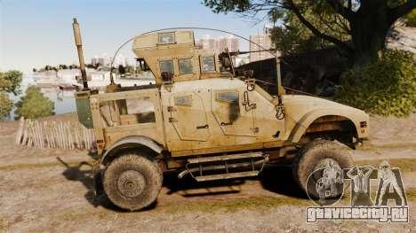 Oshkosh M-ATV для GTA 4 вид слева