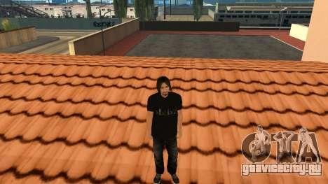 Качественный Скин STAFF для GTA San Andreas шестой скриншот