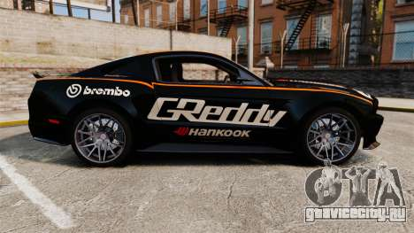 Ford Mustang GT 2013 NFS Edition для GTA 4 вид слева
