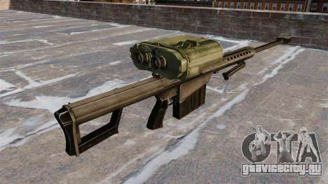 Снайперская винтовка Barrett M82A3 для GTA 4 второй скриншот