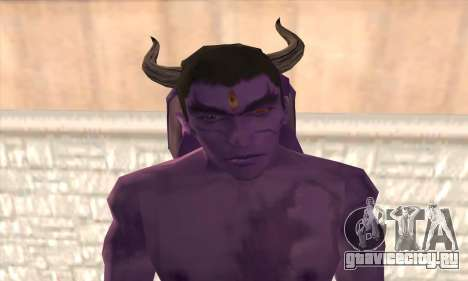 Devil Kazuya Mishima для GTA San Andreas третий скриншот