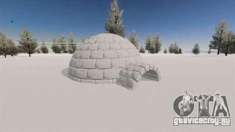 Локация Arctic Wonderland для GTA 4 шестой скриншот
