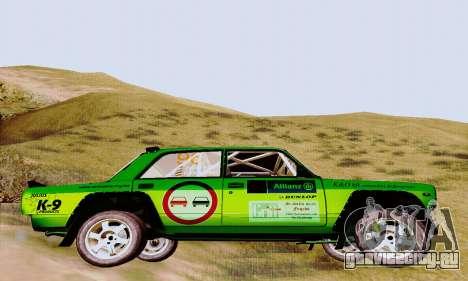 Lada 2105 VFTS для GTA San Andreas вид справа