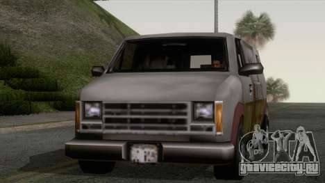 Hoods Rumpo XL из GTA 3 для GTA San Andreas вид сзади слева