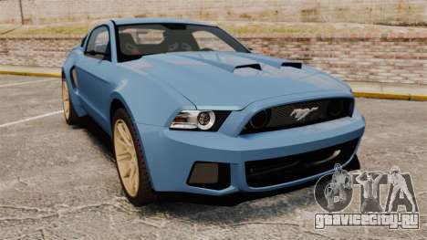 Ford Mustang GT 2013 Widebody NFS Edition для GTA 4